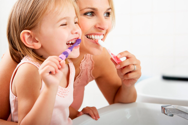 higiene bucal dientes de leche