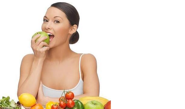 Comida saludable para una buena salud bucodental